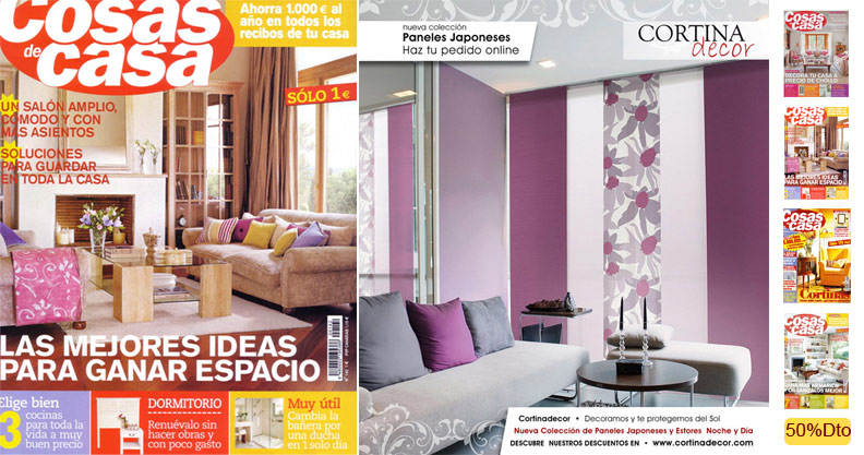 Revista de decoraci n cosas de casa for Cosas de casa decoracion catalogo