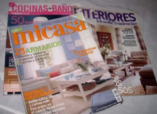 Revista de decoraci n de interiores Revista interiores ideas y tendencias