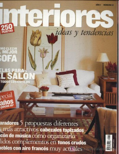 Revista decoraci n de interiores for Revistas de diseno de interiores