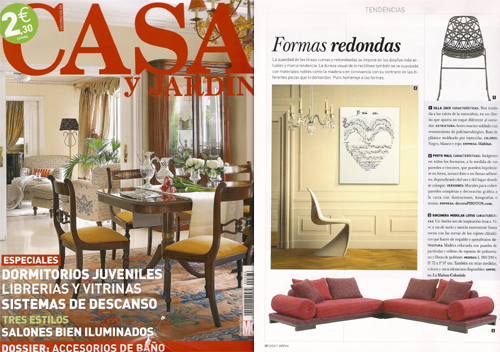 Revistas de decoraci n for Casa y jardin revista